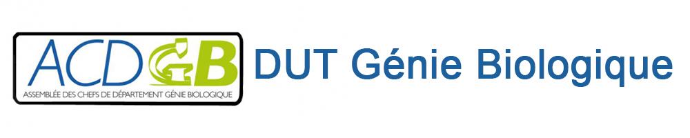 DUT – GÉNIE BIOLOGIQUE - Le site des DUT GB en France